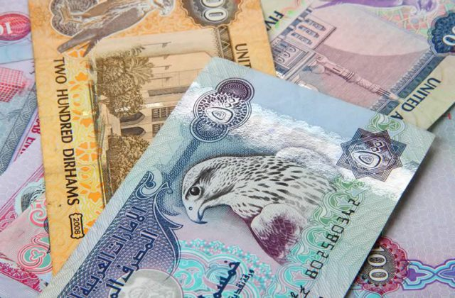 The Emirati Dirham Aed Was Stronger Against Pound Gbp On Tuesday As Arabic Currency Supported By Its Peg To Us Dollar Usd