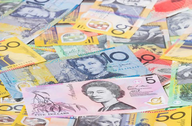 Australian Dollar To Us Aud Usd Exchange Rate Up As Aussie Ilises While Slips