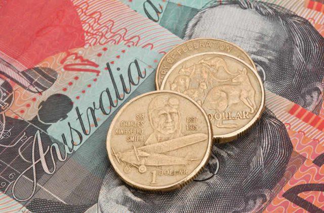 us dollar to australian dollar 2020