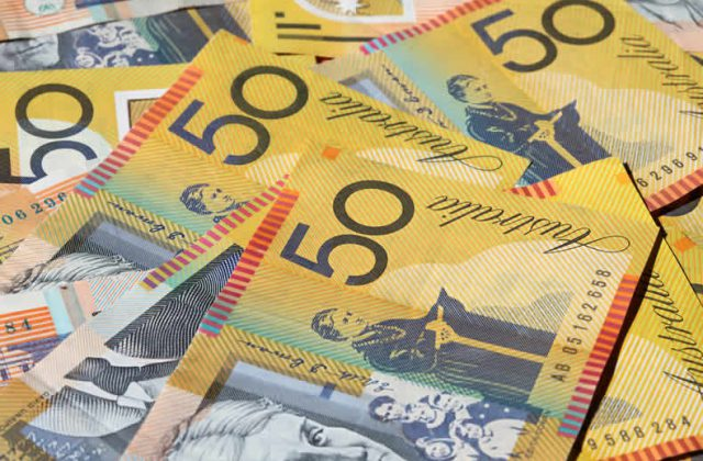 Australian Dollar Us Dollar Audusd Exchange Rate Pushes Back As