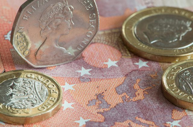 Pound Sterling To Euro Gbp Eur Exchange Rate Knocked Off 21 Month Best As German Inflation Strengthens