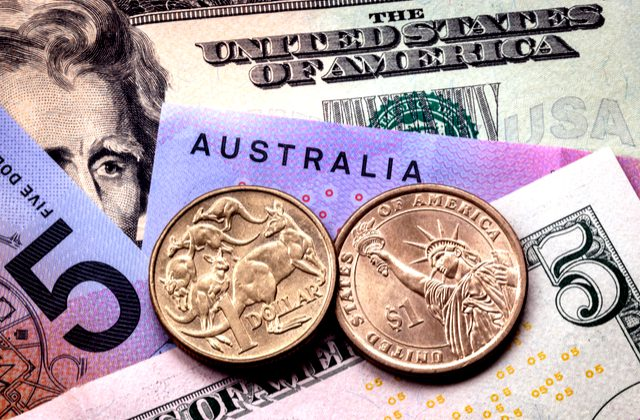 Australian Dollar To Us Dollar Audusd Exchange Rate Sheds Gains